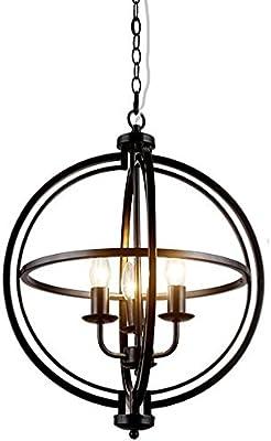 Amazon.com: Chandeliers - 5 lámparas de techo con acabado en ...