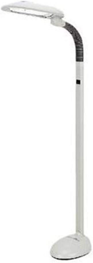 Max 42% OFF EasyEye Sunpentown SL-822 Energy Saving Floor 2-Tube Lamp New popularity Gra