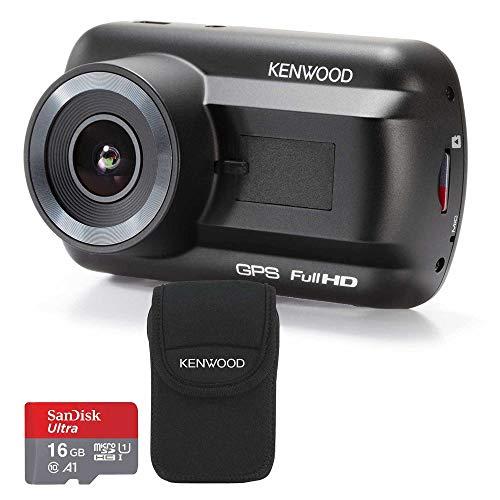 Kenwood DRV-A201 Travel ProPack Full HD Dash Cam + Carry Case Bundle