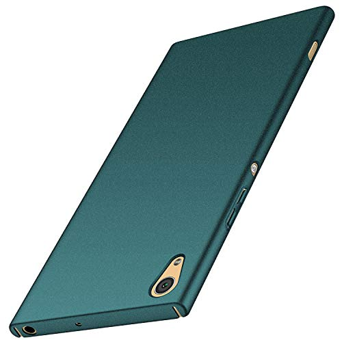 anccer Sony Xperia XA1 Ultra Hülle, [Serie Matte] Elastische Schockabsorption & Ultra Thin Design für Sony Xperia XA1 Ultra (Kies Grün)