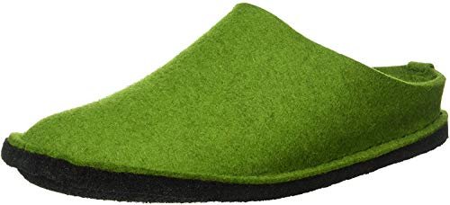 Haflinger Flair Soft Pantoffeln Unisex-Erwachsene, Grün (Grasgrün 36), 42 EU