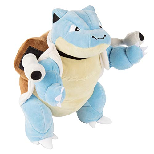 "Pokémon Blastoise Plush Stuffed Animal - Large 12"" - Age 2+"