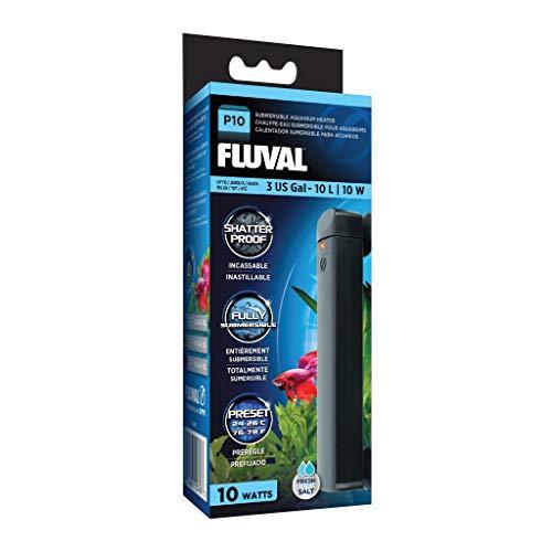 Fluval P10 Submersible Aquarium Heater, 10 W, up to 3 US Gal (10 L)