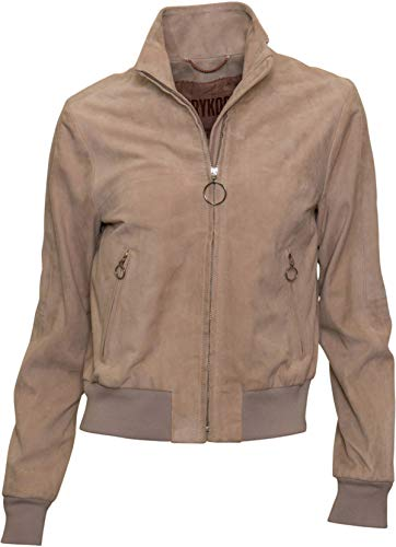 Drykorn Damen Wildlederblouson Harrow in Beige 2 / S