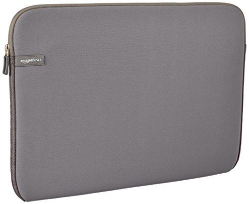 AmazonBasics Laptop-Schutzhülle,17,3 Zoll, Grau
