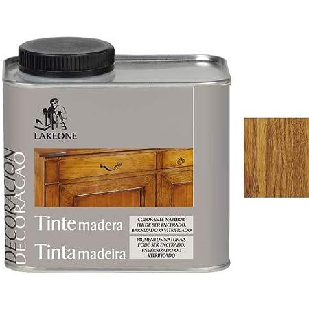 Lakeone 50101/1/2L.04 Tinte para La Madera, Cerezo Silvestre, 450 ml