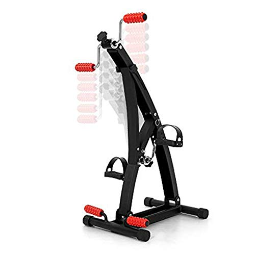 ZXFF Home Fitness Bicycle Pedal Ejercitor, Dispositivo De Entrenamiento De Rehabilitación para Extremidades Superiores E Inferiores De Mano Anciana Y Carrera De Hemiplegia De Pierna