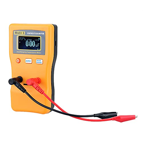 skrskr M6013 alta precisión condensador metro profesional medición de capacitancia resistencia condensador circuito probador