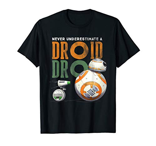Star Wars Rise of Skywalker BB-8 and D-O Droid T-Shirt