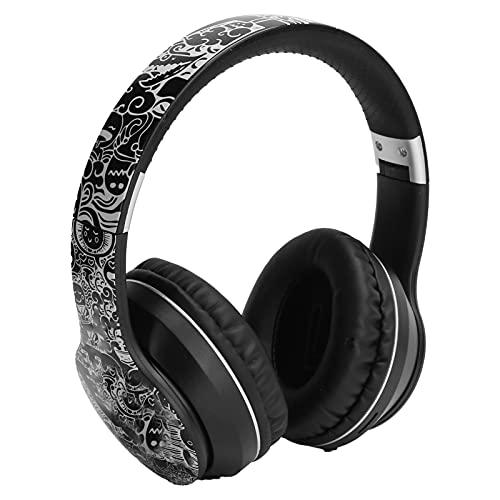 Dilwe EL-B1 Auriculares Inalámbricos Plegables de Casco para Bluetooth 5.0, Gaming Auriculares...