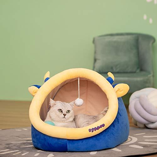 TKMY Perrera De Gato Mascota Nido Gato Cerrado Pequeño Perro Cuatro Temporadas Perrera Universal Se Puede Quitar Y Lavar Nido De Gato Mascota