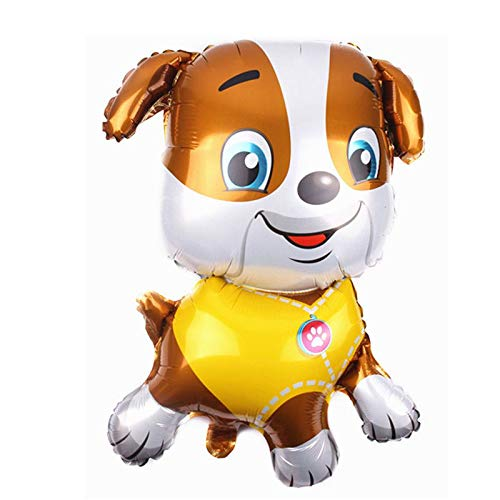 generisch Folienballon Hunde für Kinder ( Chase, Marshall, Rubble,35 Zoll ) ( Sky16 Zoll ) (Rubble)