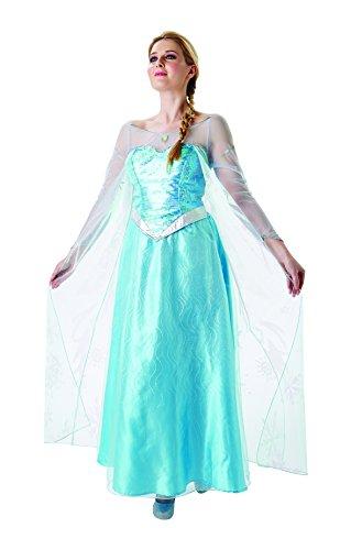 Frozen - Disfraz de princesa Elsa para mujer, talla M adulto (Rubie