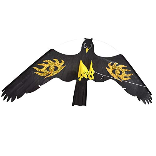 Raspbery Eagle Kite para niños y Adultos Repelente de pájaros Eagle Kite...