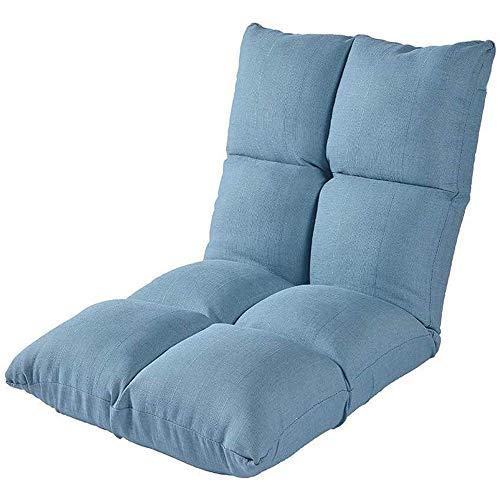 YHLZ Lazy Sofa, Boden Stuhl Kleiner Boden Kinder Lounge Chair, Folding Einzel Meditation Stuhl Mit waschbarem Tuch Cover, Llazy Sofa-Sitzkissen, 5 Einstellbare Position