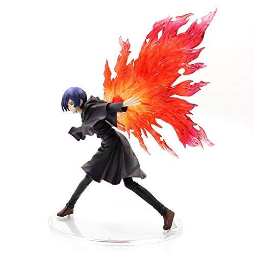 jwj anime modelldekorationer Tokyo Ghoul figur modell Kotobukiya tecknad figur samling docka leksaker actionfigur anime (färg: Utan låda)