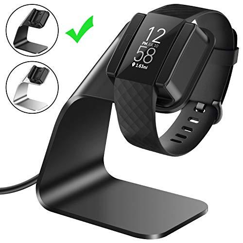 CAVN Ladegerät Kompatibel mit Fitbit Charge 4 Ladekabel Dock, (150cm/4.9ft) Ersatz USB Premium Ladestation Charger Kabel Charging Adapter Stand Ladegerät für Charge 4 /SE Fitness Tracker