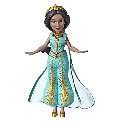 Disney Collectible Princess Jasmine Small Doll in Teal Dress Inspired...