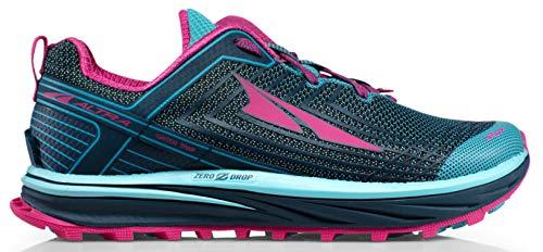 ALTRA Women's AFW1957F TIMP 1.5 Trail Running Shoe, Blue/Raspberry- 8 B(M) US