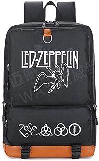 2018 Led Zeppelin Rock Band Backpack b Women School Shoulder Bag Men Laptop Bags Teenage Girl