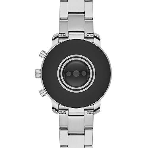 Fossil Men's Gen 4 Explorist HR Heart Rate Stainless Steel Touchscreen Smartwatch, Color: Silver (Model: FTW4011) 9