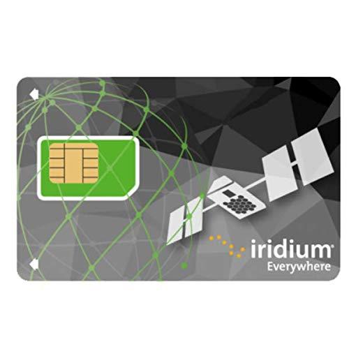 Iridium Satellite Telefono carta prepagata SIM (nessun tempo di trasmissione incluso)