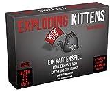 Asmodee Exploding Kittens - NSFW Edition, Grundspiel, Partyspiel, Kartenspiel, Deutsch