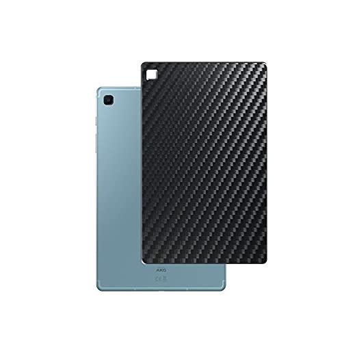 VacFun 2 Piezas Protector de pantalla Posterior, compatible con SAMSUNG GALAXY TAB S6 LITE SM-P615 / P615C / P615N, Película de Trasera de Fibra de carbono negra Skin Piel