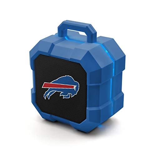 NFL Buffalo Bills Shockbox LED Wireless Bluetooth Speaker, Team Color