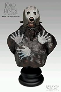 Lord of the Rings The Two Towers Uruk-Hai Berserker 1/4 scale Polystone Bust Statue