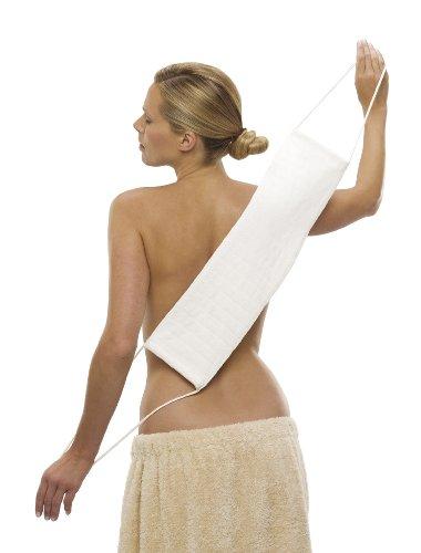 Micro Peeling Sensation Rückenreinigungstuch, 60 x 15 cm, weiß
