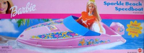 Barbie Sparkle Beach SPEED BOAT (lancha rápida) (2002)