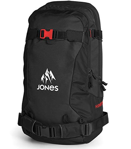Jones - Higher 30L Backpack 2017, Black/Red