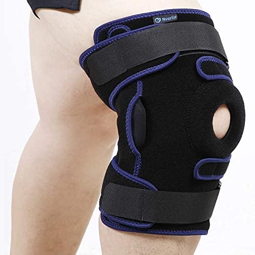 Nvorliy Plus Size Hinged Knee Brace Dual...