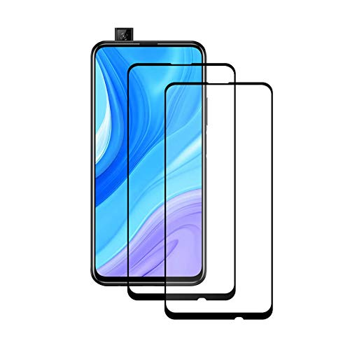 Huawei P Smart Pro/Huawei P Smart Z new edition panzerglas,Gehärtetes Glas Schutzfolie Kompatibel mit Huawei P Smart Pro/Huawei P Smart Z, 2 Stück
