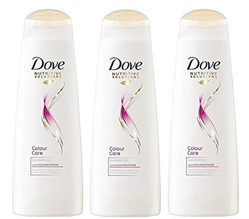 Champú radiante Dove Colour de 250 ml (3 unidades)