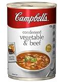 Campbell Sopas Condensadas Sopa de Vegetales y Carne de res 420gm