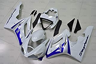 Abs Fairing for 675 2006-2008 Motorcycle Fairing for 675 2007 Blue White Fairings Daytona 2007