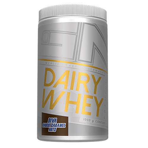 GN Laboratories 100% Dairy Premium Whey 40%-Cross-Flow Isolate 1000g (Diva Choco Karamell Nüsse)