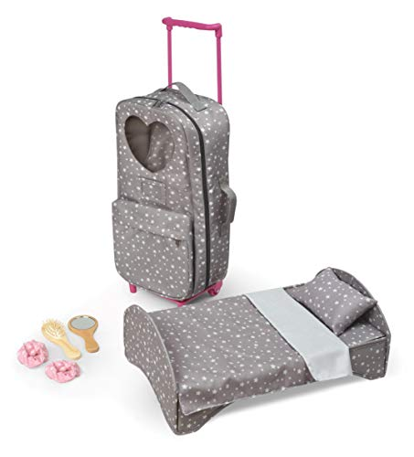 Travel and Tour Trolley Carrier with Bed for 18-inch Dolls (fits American Girl Dolls)