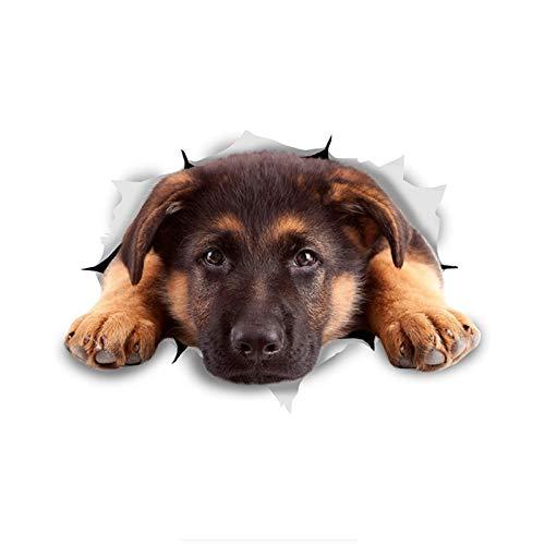 Wangna Stick de Perro 3D, Deje Que el Pastor alemán en la...