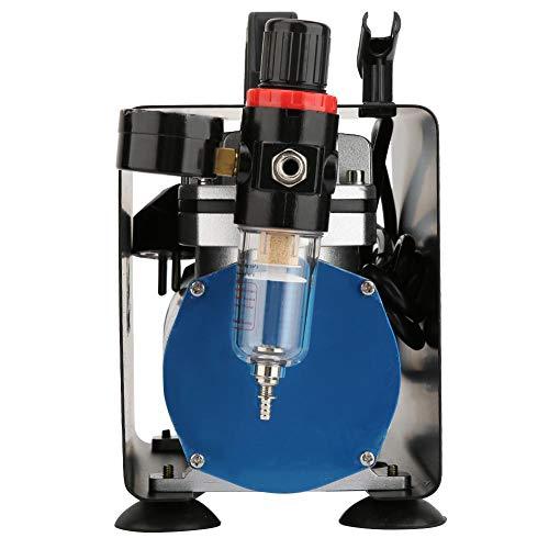 Mobiele luchtcompressor, 1450-1750 omw/min mobiele compressoren, 1/6 pk cilinder luchtcompressor, 20-23 l/min met 1/8 inch BSP-stekker