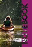 Notebook: Kayak Boats Petite Composition Book for Canoe Club Members
