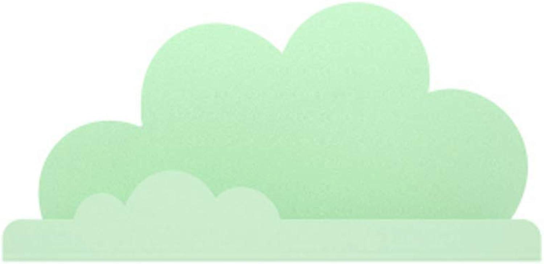 CCF Magnetisches Wolken-Regal - reizendes Karikatur-Belastungs-Lager-Regal-Magnetwohnzimmer-Dekoration-Saug-Wand-Regal CCFSF (Farbe   Grün)