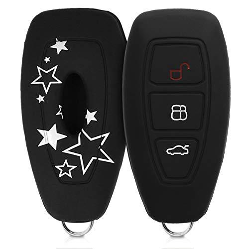 bester der welt Kwmobile Khaki Abdeckung passt Ford Keyless Go 3 Knopf Khaki – Silikon 2021