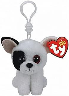 Holland Plastics Original Brand TY Beanie Boos Marcel The Dog, Keyclip!