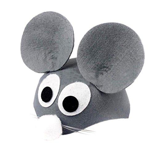 EOZY Halloween Kinder Tiermütze Cartoon Hut Party Kostüm Maus