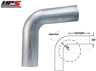 "HPS 2/"" OD 110 Degree Bend 6061 Aluminum Elbow Pipe 16 Gauge w// 3 1//8/"" CLR"