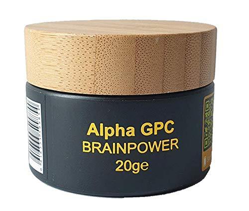 Alpha GPC - deluxe high brainfood - 20g AlphaGPC - im Glastiegel