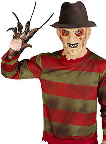 Funidelia | Sombrero de Freddy Krueger - Pesadilla en ELM Street Oficial para Hombre y Mujer ▶ Freddy, Películas de Miedo, Pesadilla en ELM Street, Terror - Multicolor, Accesorio para Disfraz